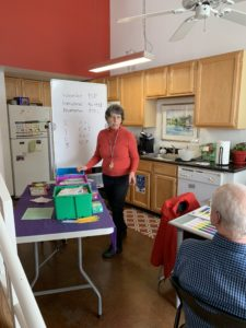 Rebecca Buckley provides tutor training at Children Rising