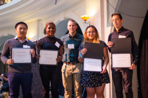 2019 Eddie College Scholarship Award Winners