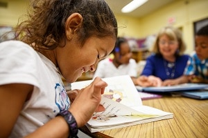 Learning to read empowers children to succeed in elementary school