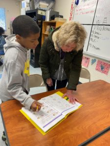 Barbara, Path2Math tutor, works with a student