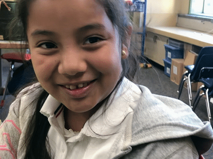 Jocelyn was shy and reserved but determined to learn math.