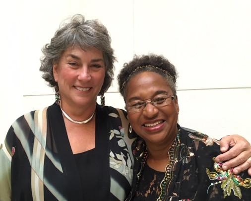 Ann Rosenberg and Gwen Stephens