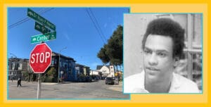 Huey P. Newton Way in West Oakland
