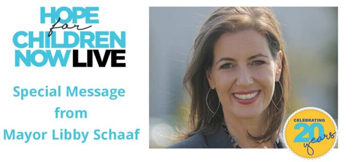 Hope for Children Now Special Guest Oakland Mayor Libby Schaaf
